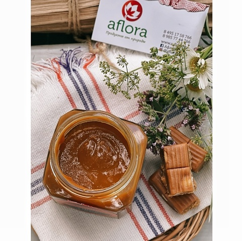 Фотография Кахета (cajeta) крем-карамель / 300 гр купить в магазине Афлора