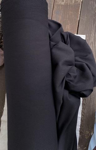 Трикотаж-лапша, Чёрный