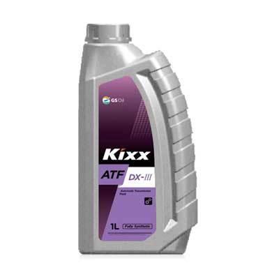 L2509AL1E1 Kixx ATF DX-III синтетическое трансмиссионное масло (1 литр) купить на официальном сайту дилера ht-oil.ru