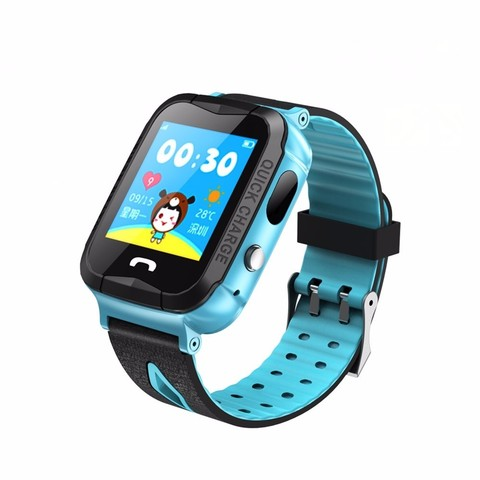 Часы Smart Baby Watch V6G цвет синий