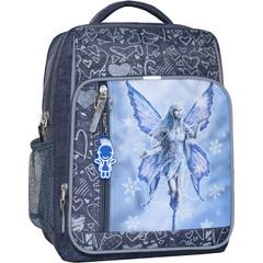Рюкзак школьный Bagland Школьник 8 л. 321 серый 94д (0012870)