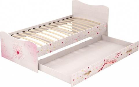 Кровать с ящиком Принцесса 4 Ижмебель 90х190 лиственница сибио