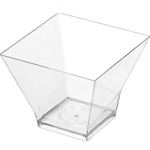 Креманка квадратная 200мл, 1шт