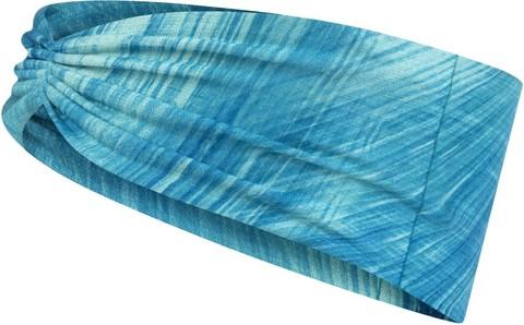 Повязка-чалма летняя Buff Headband Tapered CoolNet Pixeline Turquoise фото 1
