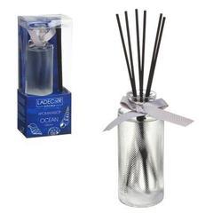 Аромадифуззор с палочками LADECOR 150мл, с ароматами океана, лесной свежести