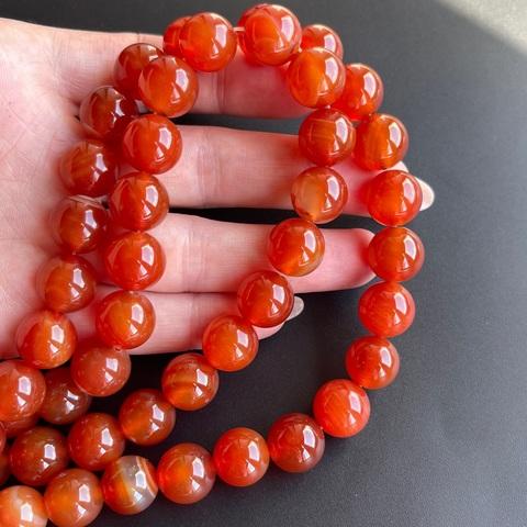 Бусины сердолик шар гладкий 12 мм 16 бусин