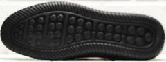 Мужские летние мокасины туфли на плоской подошве sport casual Ridge Z-291-80 All Black.