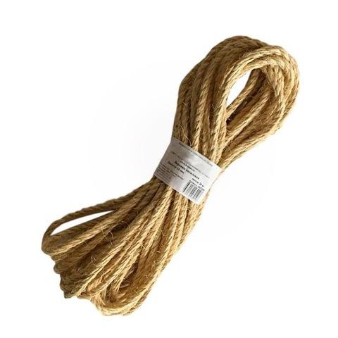 Веревка сизалевая 10мм 20м
