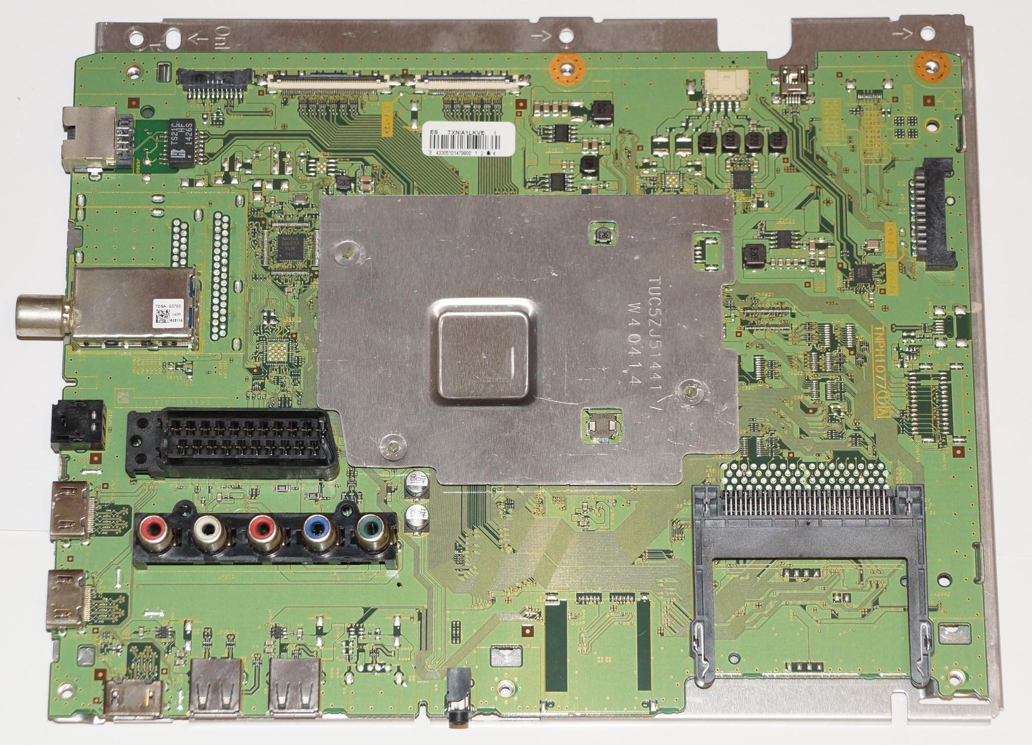 TNPH1077 1A mainboard телевизора Panasonic