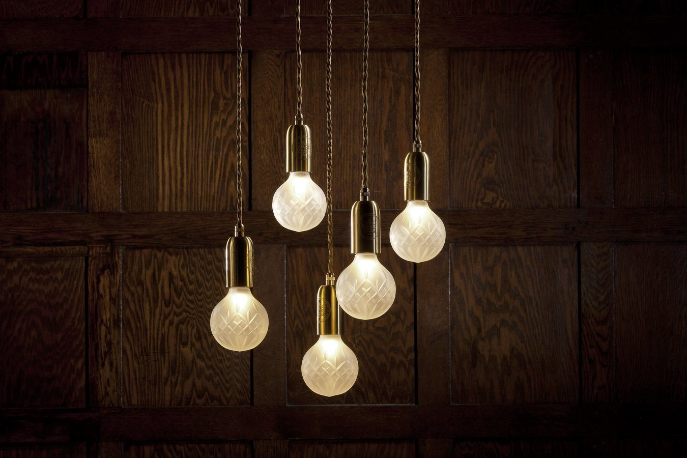 Подвесной светильник Crystal Bulb by Lee Broom (3 подвеса)