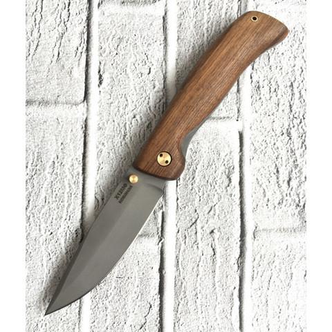 Складной нож Сормовский, х12мф, орех
