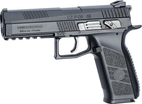 Пистолет пневматический ASG CZ-75 P-09 DUTY  BLOWBACK пулевой, металл (артикул 17537)