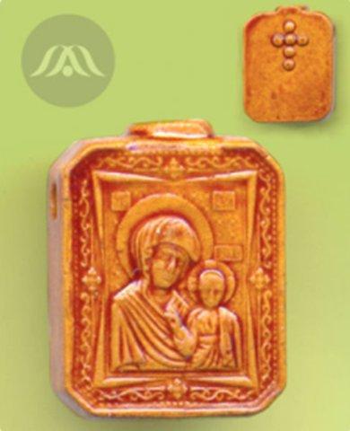 Аромакулон ручной работы «Ладанка – Богородица»