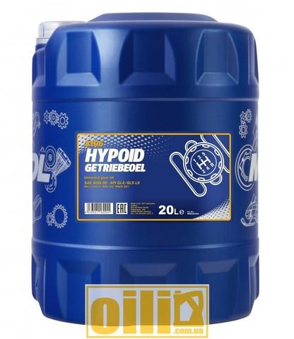 Mannol 8106 HYPOID GETRIEBEOEL 80W-90 GL-4/GL-5 LS 20л