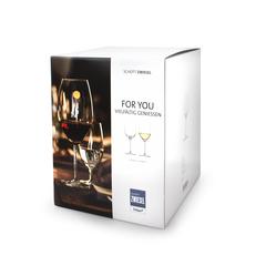 Набор бокалов для белого вина 300 мл, 4 шт, For you, фото 3