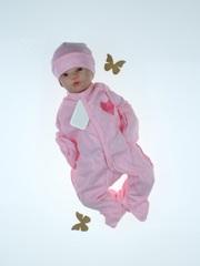 Набор на выписку из роддома зимой Little Bear розовый