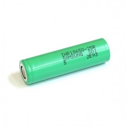 18650 Samsung INR18650-25R 20А 2500 мАч
