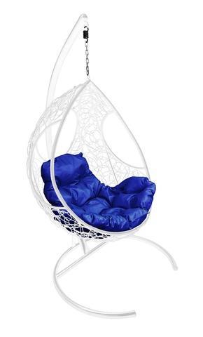 Кресло подвесное Ferrol white/blue