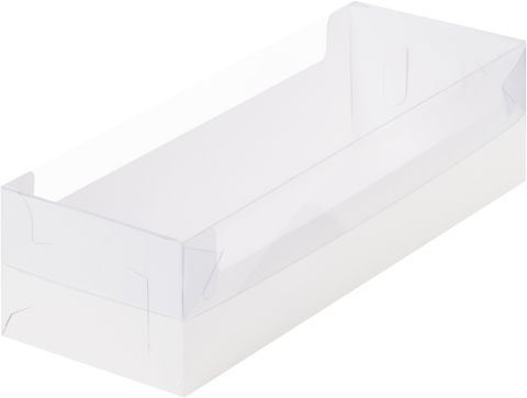 Коробочка для рулета, 30*11*11см, белая