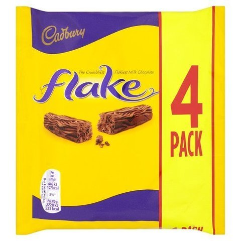Cadbury Flake 4 Pack 80 гр