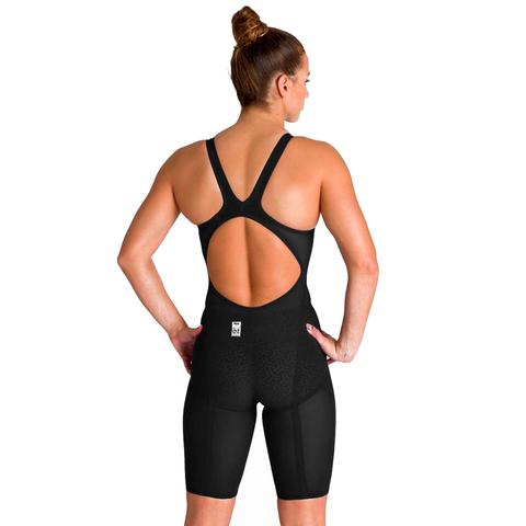 (2020) Стартовый костюм ARENA Powerskin Carbon Glide Open Back black gold ПОД ЗАКАЗ