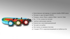 Налобный фонарь Fenix HL05 White/Red LEDs (синий, зеленый, красный)