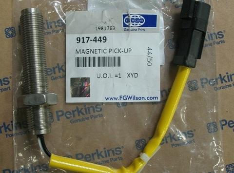 Датчик оборотов коленвала / PICK-UP MAGNETIC CAT M16 THREAD АРТ: 917-449