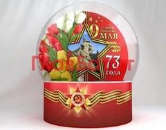 Фотозона Чудо шар на День Победы с подсветкой (полная комплектация)