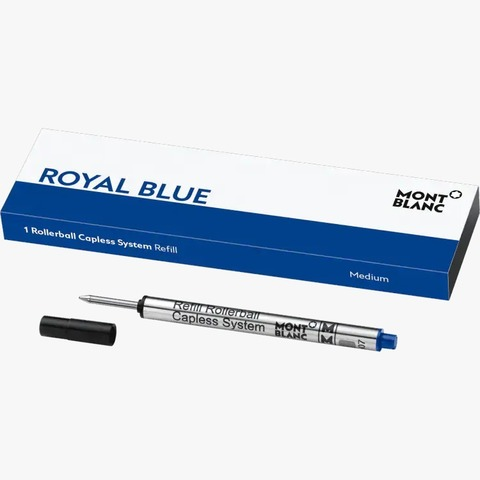 Стержень для роллера с бесколпачковой системой (M), цвет Royal Blue