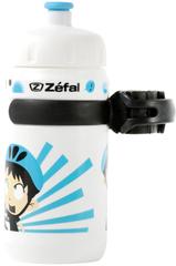 Фляга детская с держателем Zefal Little Z-Z-Boy Белый
