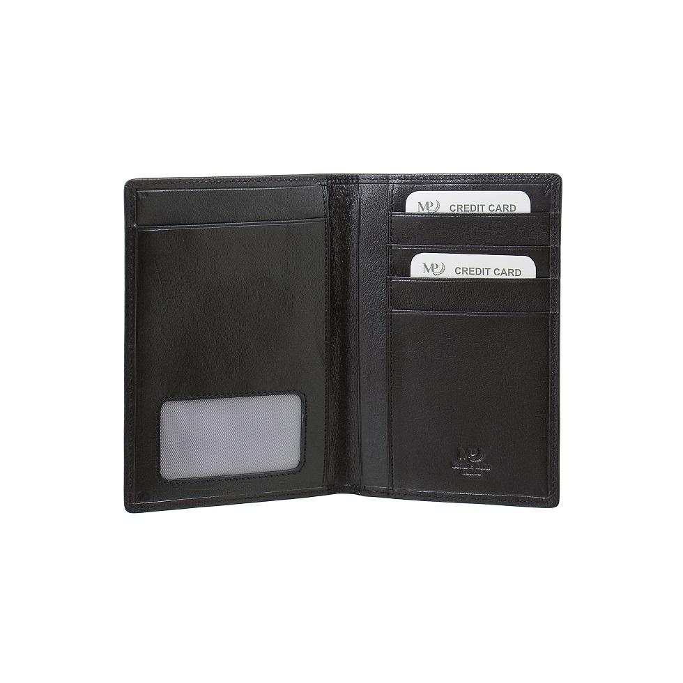 B120258R Preto - Обложка для документов с RFID защитой MP