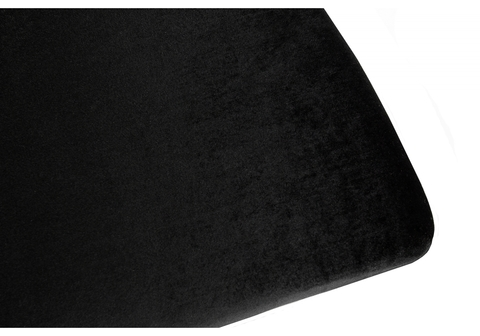 Стул кухонный, обеденный, для гостиной, металлический Odda черный 50,5*50,5*91 Хромированный металл /Черный
