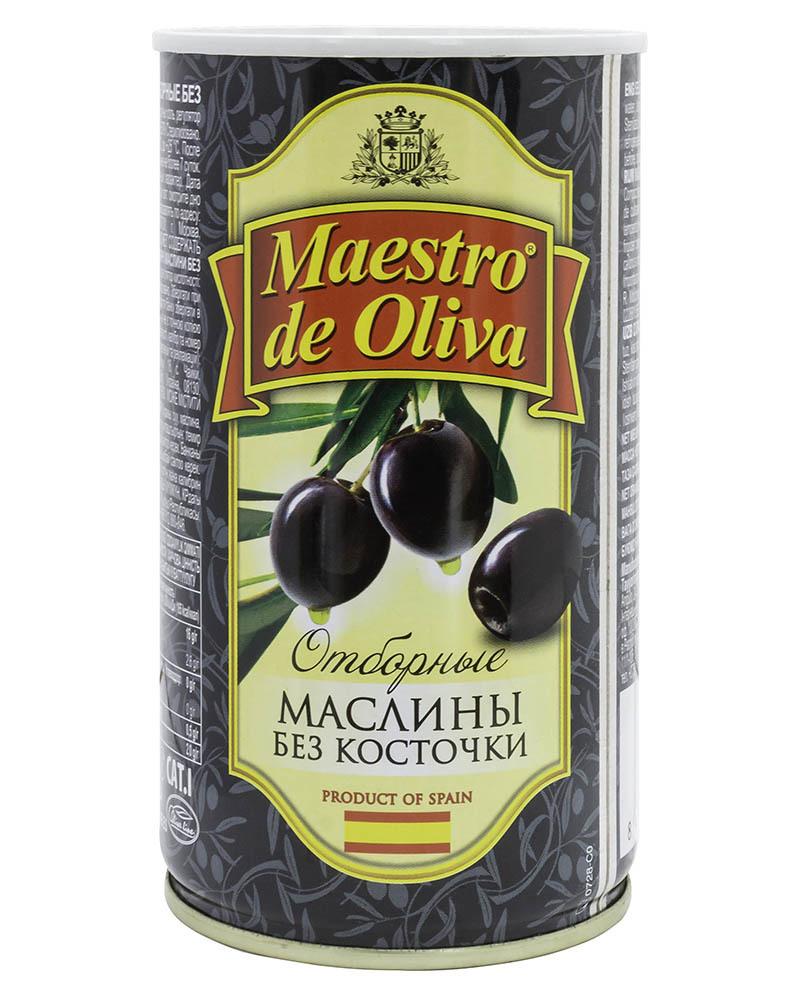 Маслины Maestro de Oliva Отборные без Косточки 360гр
