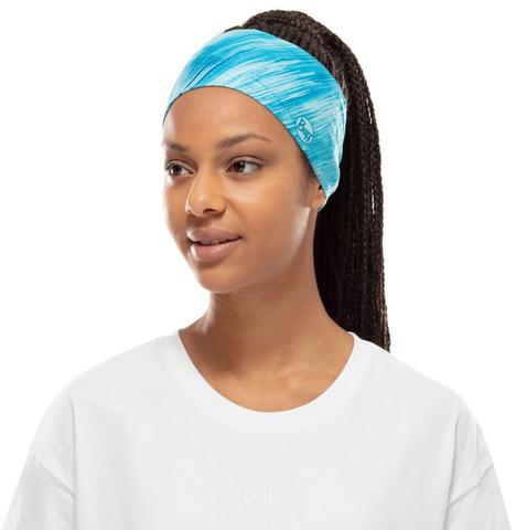 Повязка-чалма летняя Buff Headband Tapered CoolNet Pixeline Turquoise фото 2