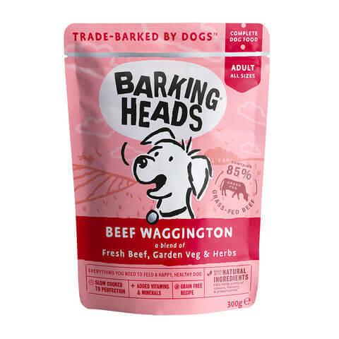 купить паучи Barking Heads Вуф-строганов с говядиной 300 грамм