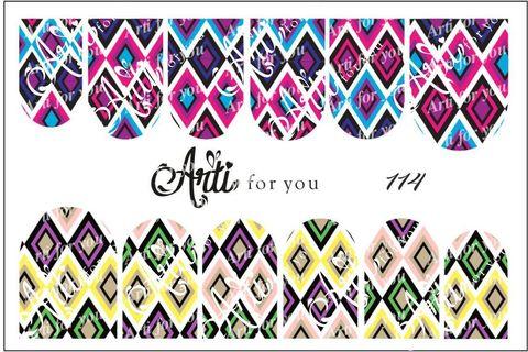 Слайдер наклейки Arti for you №114 купить за 100руб