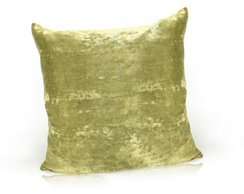 Подушка декоративная Бархат оливковый
