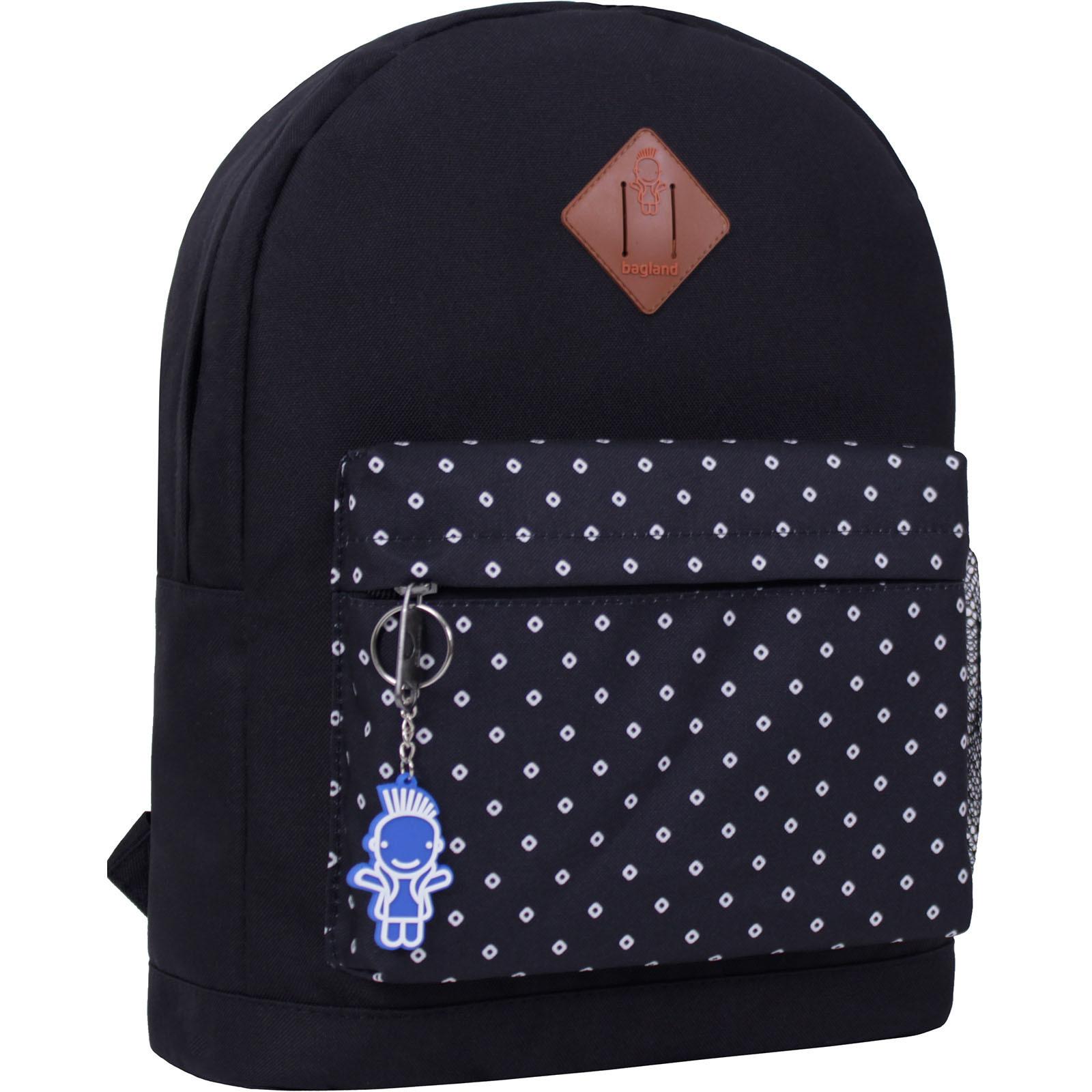 Городские рюкзаки Рюкзак Bagland Молодежный W/R 17 л. черный 462 (00533662) IMG_2217_суб.462_.JPG