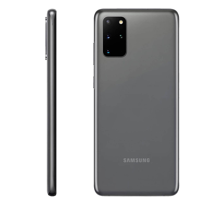 Вид сзади, камера Galaxy S20 Gray