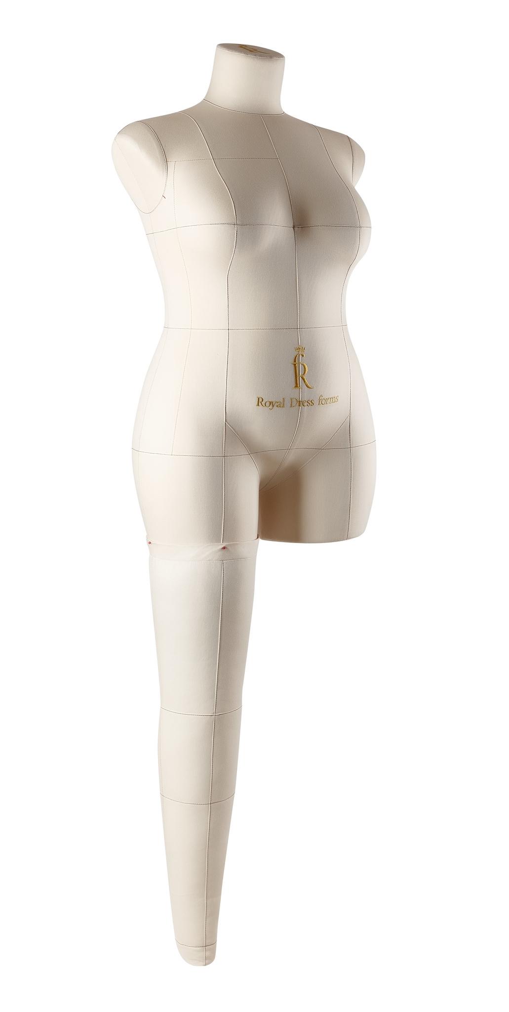 Нога бежевая для манекена Моника, размер 52Фото 2