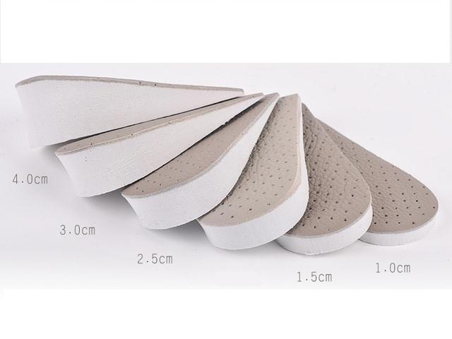 Набор полустелек из 5 шт для увеличения роста 1  1,5  2,5  3 и 4 см