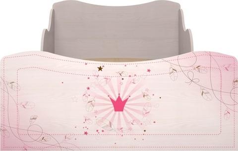 Кровать с ящиками Принцесса 5 комплектация 1 Ижмебель 90х190 лиственница сибио