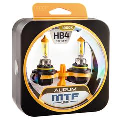 Галогенные лампы MTF Light AURUM HB4 (9006) 55W