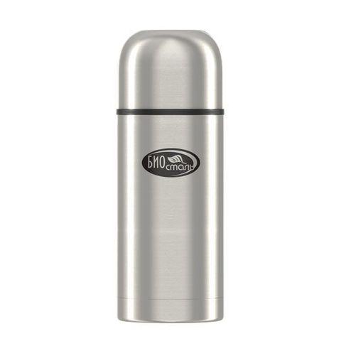 Термос Biostal Охота (0,75 литра), 2 чашки, с ситечком, стальной