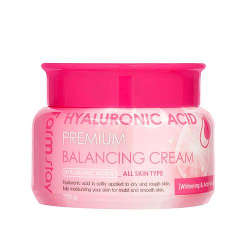 Кремы для лица Крем для лица балансирующий с гиалуроновой кислотой  FARMSTAY Hyaluronic Acid Premium Balancing Cream 100 мл Балансирующий-крем-с-гиалуроновой-кислотой-FarmStay-Hyaluronic-Acid-Premium-Balancing-Cream.jpg