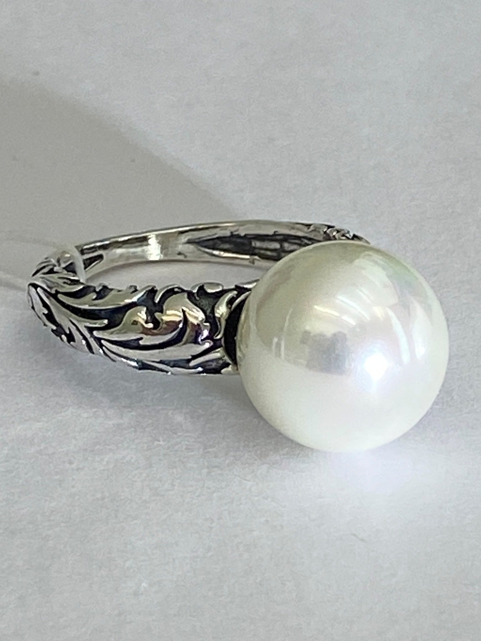 Лиана (кольцо из серебра)