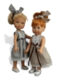 Платье летнее - На кукле. Одежда для кукол, пупсов и мягких игрушек.