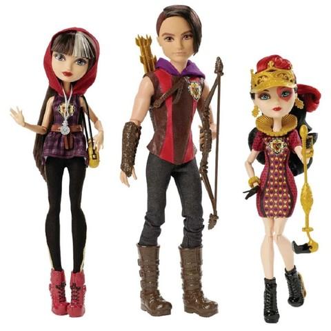 Набор из 3 кукол Хантер, Сериз, Лиззи