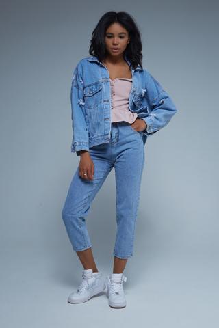 Джинсовая куртка с нашивками женская интернет магазин