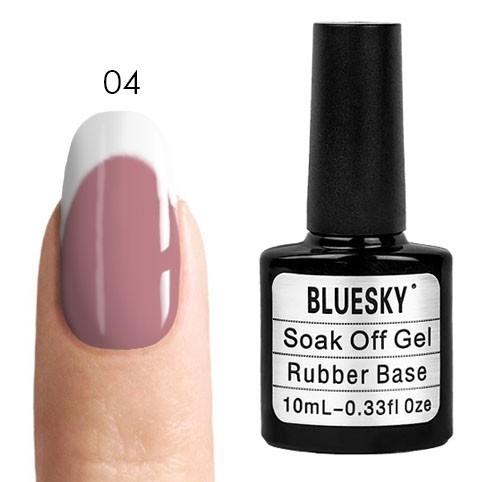 Камуфлирующая база Bluesky Bluesky, Rubber Base Cover Pink - каучуковая камуфлирующая база № 04, 10 мл kauchukovaya-osnova-bluesky-rubber-base-cover-pink-04.jpg